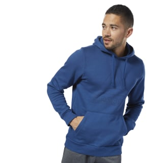 Elements Big Logo Hoodie Bunker Blue D94288