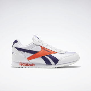 Reebok Royal Classic Jogger 2.0 Shoes White / Mystic Orchid / Vivid Orange EF3417