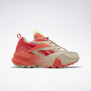 Кроссовки Reebok Aztrek Double Mix Trail Light Sand / Neon Red / Neon Lime EF9140