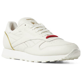 Classic Leather Chalk / Red / Gold DV7919