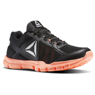 Tenis Yourflex Trainette 9.0 MT BLACK/GUAVA PUNCH BS8042