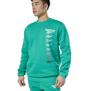 Sweat Classics Vector à col rond Emerald EB3637