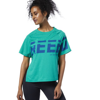 Meet You There Graphic Tee Turquoise / Blue EC2395