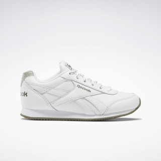 Reebok Royal Classic Jogger 2.0 Shoes White / Army Green / None EH0873