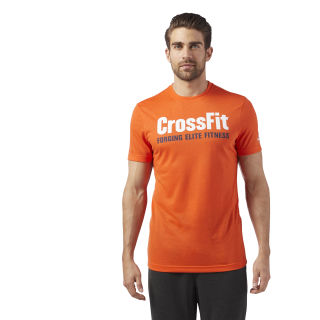 Reebok CrossFit Speedwick F.E.F. Graphic Tee Orange / Bright Lava CF4546