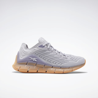 Кроссовки Reebok Zig Kinetica Sterling Grey / Violet Haze / Sunbaked Orange EH2812