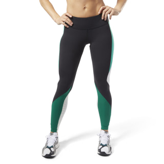 Tights Reebok Lux 2.0 Black / Clover Green DY8161