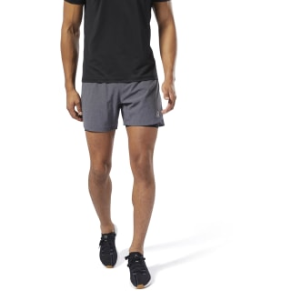 Short de running 2 en 1 Epic Black DP6736