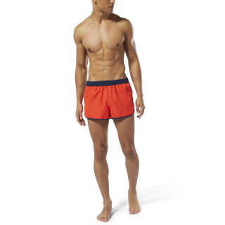 Retro Short Short Canton Red DW9559