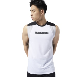 LES MILLS® SmartVent Tank Top White ED0571