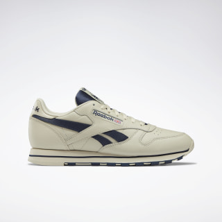 Classic Leather Shoes Alabaster / Collegiate Navy DV8739