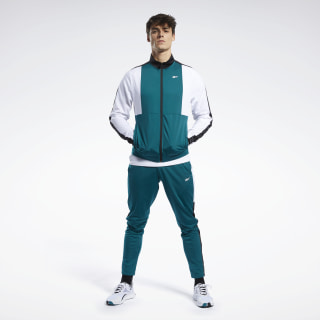 Meet You There Track Suit Heritage Teal FP8160