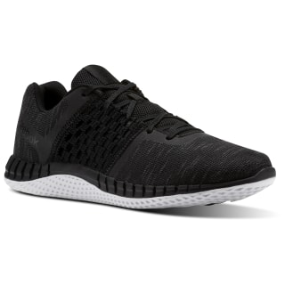 Кроссовки для бега Reebok Print Run Distance Black/BLACK/ALLOY/WHITE CN0411