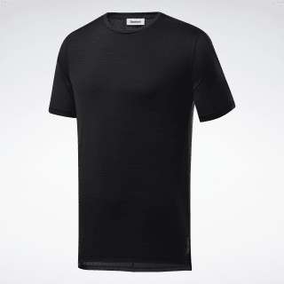 United by Fitness ACTIVCHILL Vent Tee Black FQ4394