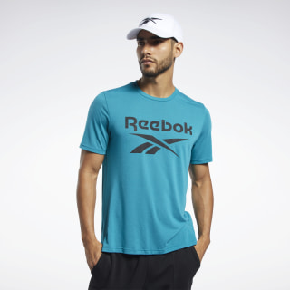 Workout Ready Supremium Graphic Tee Seaport Teal FJ4064