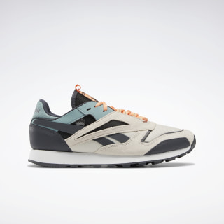 Кроссовки Reebok Classic Leather Trail Stucco / True Grey 8 / Green Slate EF3547