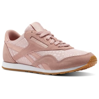 Classic Nylon Slim Text Lux Chalk Pink/White/Gum BS9447