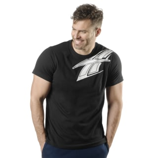 Hush Graphic Short Sleeve Tee Black DU2757