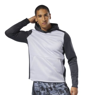 Sweat à capuche Training Spacer Mgh Solid Grey DP6575