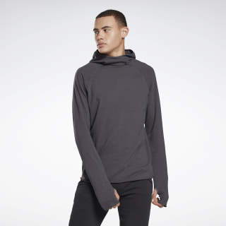 Combat Lightweight Ribbed Hoodie Cold Grey 7 EC2124