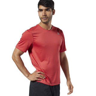 Run Essentials Tee Rebel Red EC2529