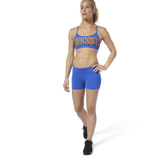 Reebok CrossFit® Lux Fade Bootie Shorts Crushed Cobalt DQ0026