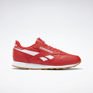 Кроссовки Reebok Classic Leather Primal Red / Primal Red / White FW9828