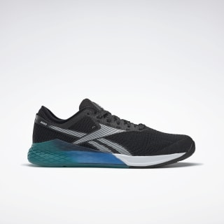 Reebok Nano 9 Men's Training Shoes Black / Seaport Teal / Humble Blue FU7564