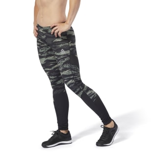 Reebok CrossFit® Compression Tights Hunter Green DQ0042