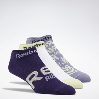 Chaussettes Run Club - Lot de 3 Violet Haze / White / Mystic Orchid FL5472