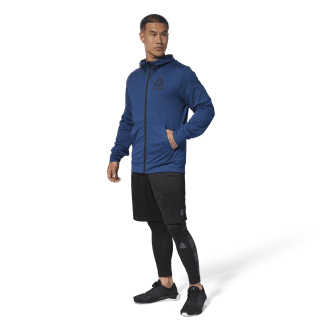 Felpa Speedwick Full-Zip Bunker Blue D93734