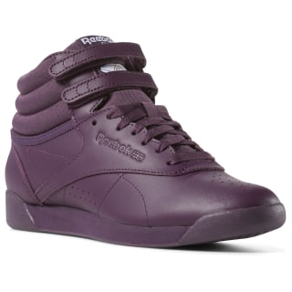 Freestyle Hi icons-urban violet / white / peach twist CN7171