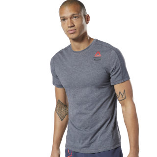 Reebok CrossFit® Games ACTIVCHILL + Cotton Tee Mgh Solid Grey / Mgh Solid Grey EC1388