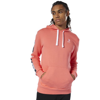 Classics Taped Hoodie Bright Rose DT8155