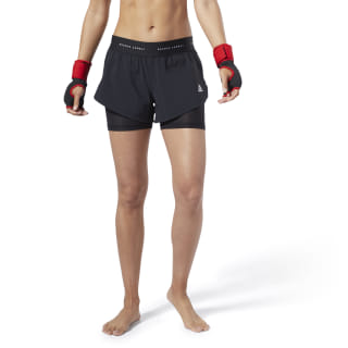 Combat Kickboxing Shorts Black EC2205