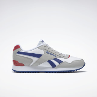 Reebok Royal Glide Skull Grey / White / Cobalt / Red DV6765
