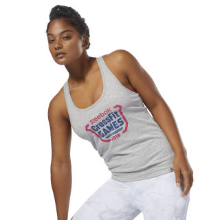 CrossFit Games Tanktop Medium Grey Heather DN2412
