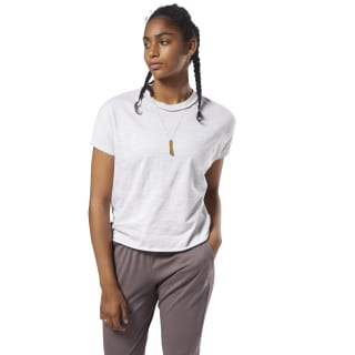 Training Essentials Marble Tee Parchment D95556