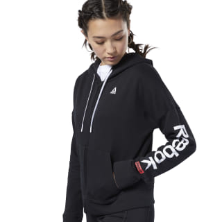 Sudadera Training Essentials Full Zip Black FI2006