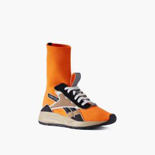 Victoria Beckham Bolton Sock Shoes Solar Orange / Sahara / Soft Camel DV9897