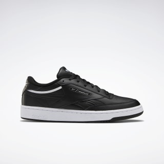 Club C Revenge Shoes Black / White / Silver Metallic EG4297