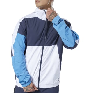 Meet You There Woven Jacket Heritage Navy DY7766