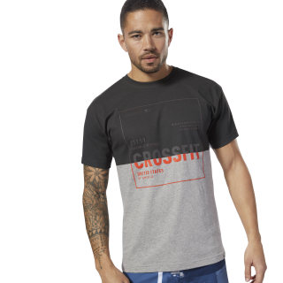 T-shirt de CrossFit Medium Grey Heather DH3692