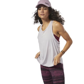 Perforated Speedwick Tank Grey D93963