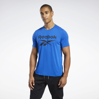 Workout Ready Supremium Graphic Tee Humble Blue FK6214
