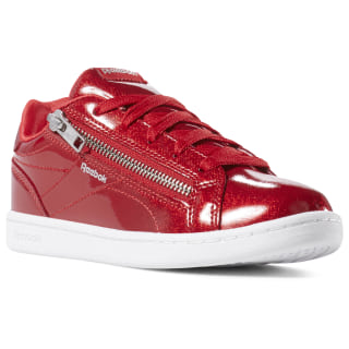 Reebok Royal Complete Clean Zip Red Sparkle / White DV4117