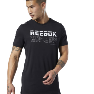 Meet You There Graphic Tee Black EI5099