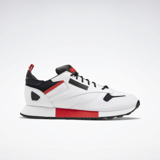 Classic Leather Ree:Dux Shoes White / Black / Radiant Red FV3204