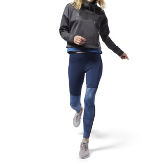 Colour blocked Leggings Bunker Blue D95072