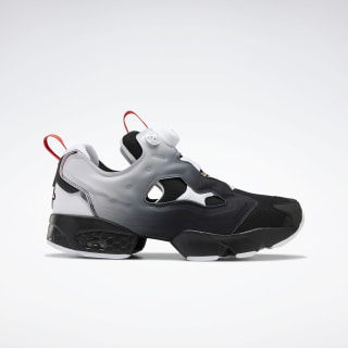 Instapump Fury OG NM Shoes Black / White / Radiant Red EH3254